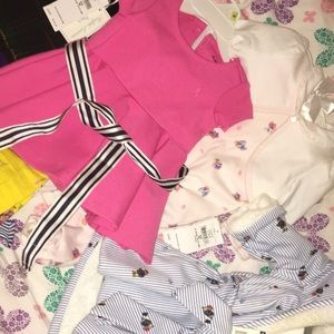 Baby girl 3 mos brand new Ralph Lauren outfits